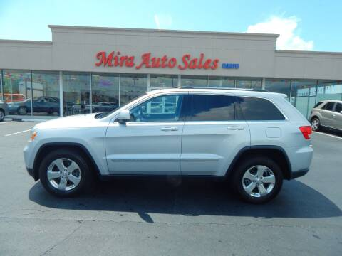 2012 Jeep Grand Cherokee for sale at Mira Auto Sales in Dayton OH