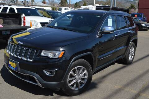 2015 Jeep Grand Cherokee for sale at Earnest Auto Sales in Roseburg OR
