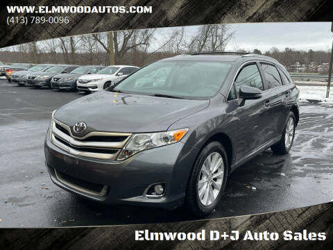 2015 Toyota Venza for sale at Elmwood D+J Auto Sales in Agawam MA