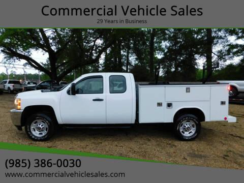 2011 Chevrolet Silverado 2500HD for sale at Commercial Vehicle Sales in Ponchatoula LA