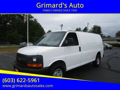 2017 Chevrolet Express Cargo for sale at Grimard's Auto in Hooksett, NH