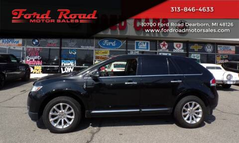 2014 Lincoln MKX for sale at Ford Road Motor Sales in Dearborn MI