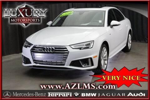 2019 Audi A4 for sale at Luxury Motorsports in Phoenix AZ