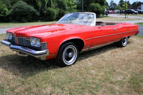 1973 Pontiac Grand Ville for sale at Great Lakes Classic Cars & Detail Shop in Hilton NY
