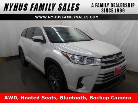 2017 Toyota Highlander for sale at Nyhus Family Sales in Perham MN