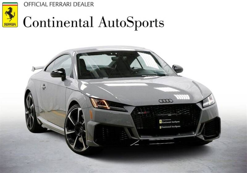 2019 Audi TT RS for sale at CONTINENTAL AUTO SPORTS in Hinsdale IL