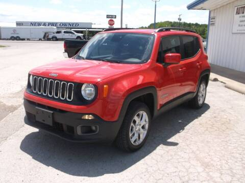 2016 Jeep Renegade for sale at AUTO TOPIC in Gainesville TX
