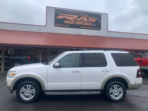 2010 Ford Explorer for sale at Ridley Auto Sales, Inc. in White Pine TN