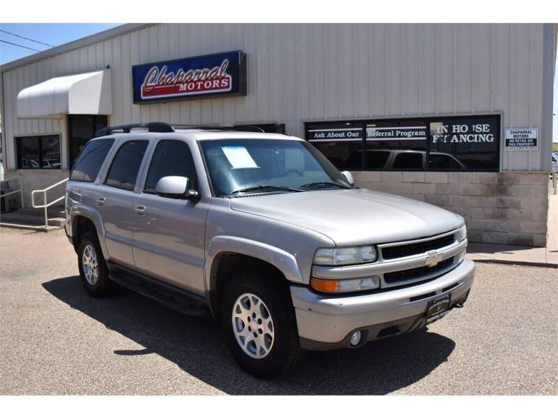 2005 Chevrolet Tahoe for sale at Chaparral Motors in Lubbock TX