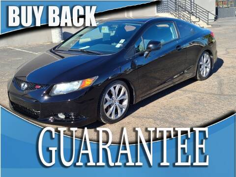 2012 Honda Civic for sale at Reliable Auto Sales in Las Vegas NV