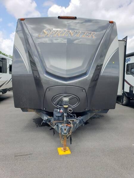 2016 Keystone Sprinter 319MKS for sale at Ultimate RV in White Settlement TX