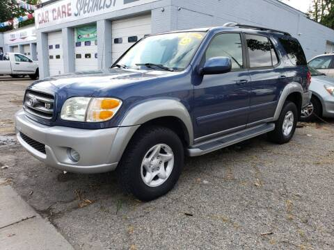 2002 Toyota Sequoia for sale at Devaney Auto Sales & Service in East Providence RI