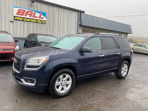 2015 GMC Acadia for sale at Ball Pre-owned Auto in Terra Alta WV