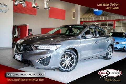 2019 Acura ILX for sale at Quality Auto Center in Springfield NJ