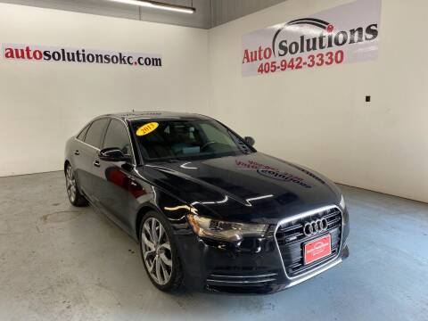 2013 Audi A6 for sale at Auto Solutions in Warr Acres OK