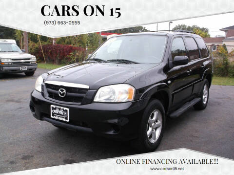 2005 Mazda Tribute for sale at Cars On 15 in Lake Hopatcong NJ