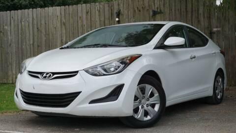 2016 Hyundai Elantra for sale at Hidalgo Motors Co in Houston TX