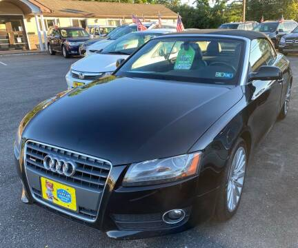 2012 Audi A5 for sale at Primary Motors Inc in Commack NY