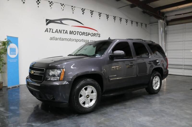 2010 Chevrolet Tahoe for sale at Atlanta Motorsports in Roswell GA