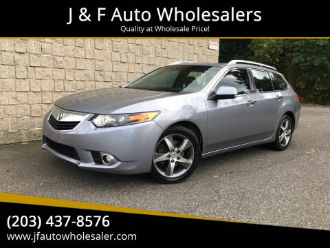2011 Acura TSX Sport Wagon for sale at J & F Auto Wholesalers in Waterbury CT