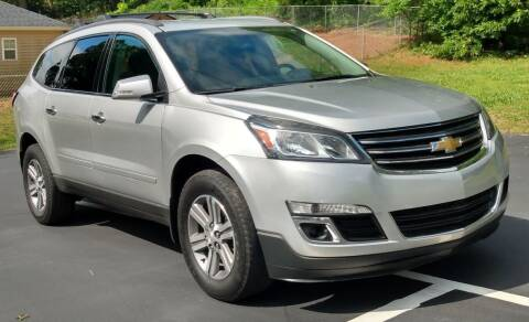 2015 Chevrolet Traverse for sale at Happy Days Auto Sales in Piedmont SC