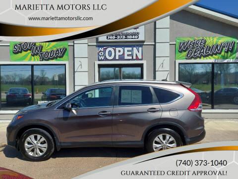 2014 Honda CR-V for sale at MARIETTA MOTORS LLC in Marietta OH