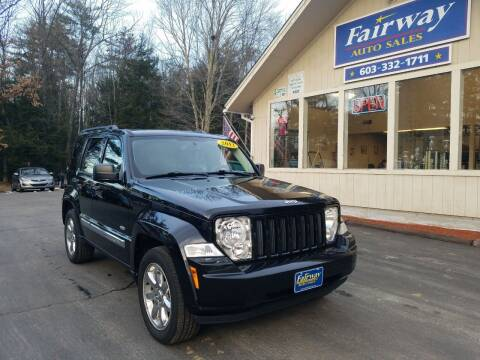 2012 Jeep Liberty for sale at Fairway Auto Sales in Rochester NH