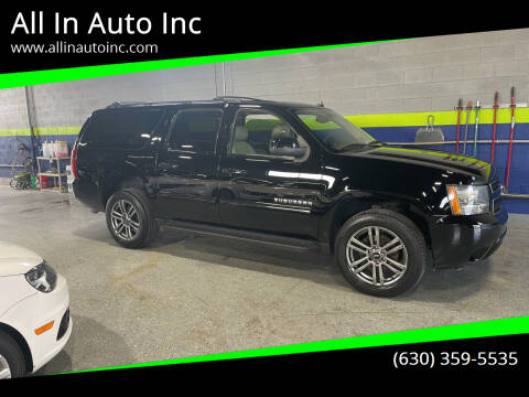 2012 Chevrolet Suburban for sale at All In Auto Inc in Addison IL