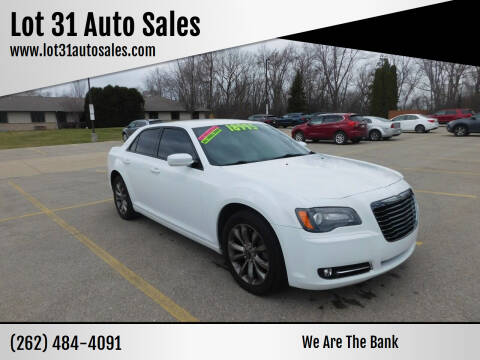 2014 Chrysler 300 for sale at Lot 31 Auto Sales in Kenosha WI
