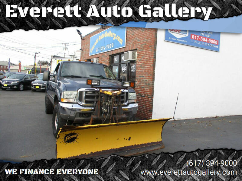 2004 Ford F-350 Super Duty for sale at Everett Auto Gallery in Everett MA