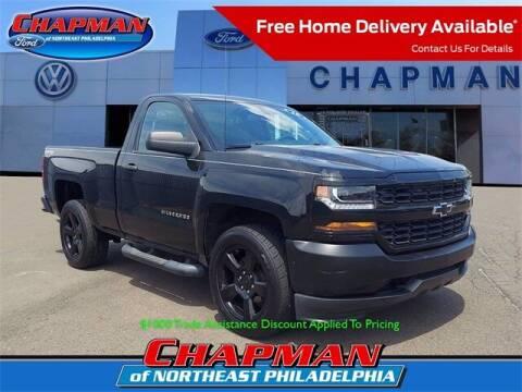 2016 Chevrolet Silverado 1500 for sale at CHAPMAN FORD NORTHEAST PHILADELPHIA in Philadelphia PA