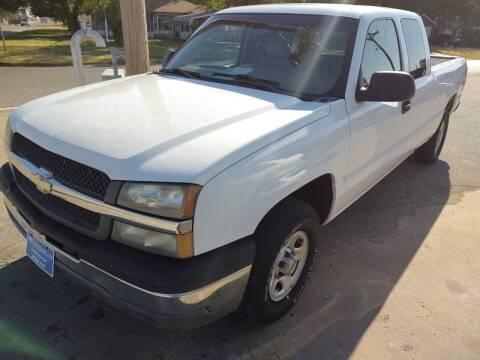 2004 Chevrolet Silverado 1500 for sale at 4 B CAR CORNER in Anadarko OK