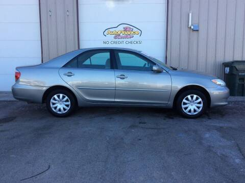2002 Toyota Camry for sale at The AutoFinance Center in Rochester MN