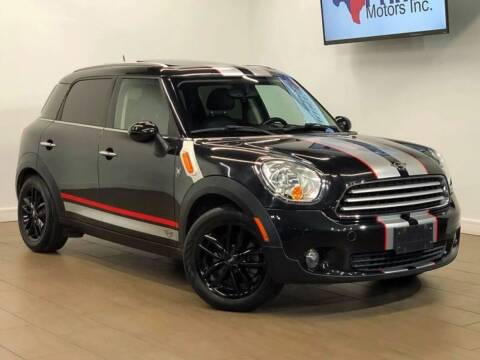 2012 MINI Cooper Countryman for sale at Texas Prime Motors in Houston TX