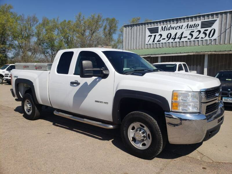 2010 Chevrolet Silverado 2500HD for sale at Midwest Auto of Siouxland, INC in Lawton IA