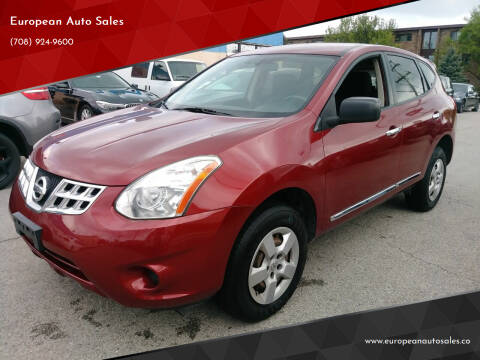 2013 Nissan Rogue for sale at European Auto Sales in Bridgeview IL