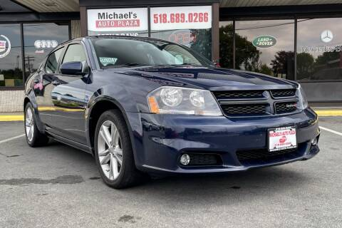 2013 Dodge Avenger for sale at Michaels Auto Plaza in East Greenbush NY