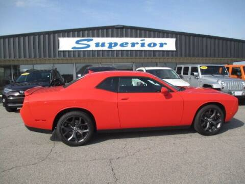 2019 Dodge Challenger for sale at SUPERIOR CHRYSLER DODGE JEEP RAM FIAT in Henderson NC
