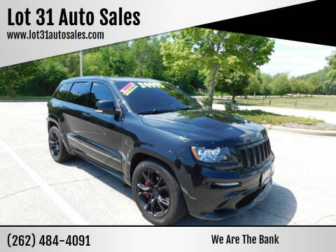 2012 Jeep Grand Cherokee for sale at Lot 31 Auto Sales in Kenosha WI
