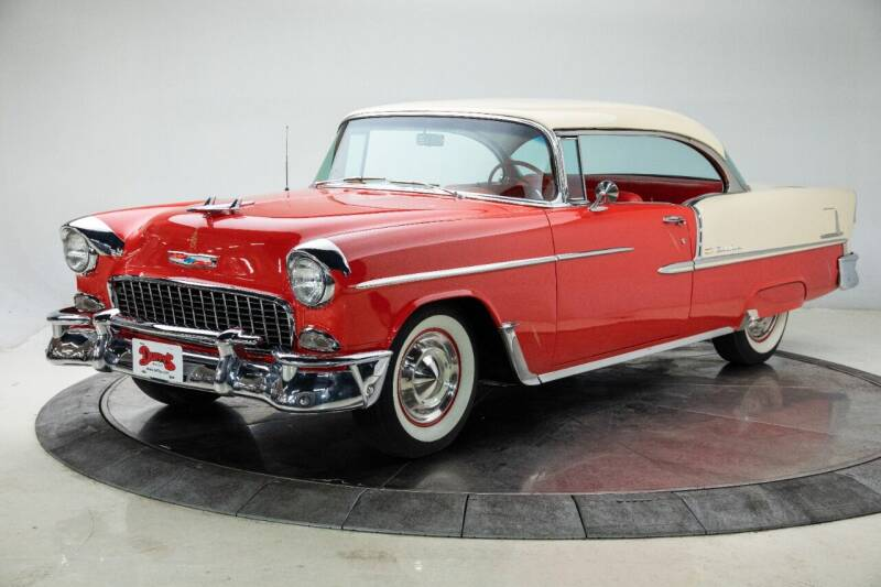 1955 Chevrolet Bel Air for sale at Duffy's Classic Cars in Cedar Rapids IA