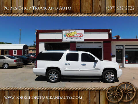 2008 GMC Yukon XL for sale at Porks Chop Truck and Auto in Cheyenne WY