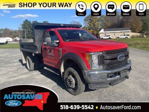 2017 Ford F-550 Super Duty for sale at Autosaver Ford in Comstock NY