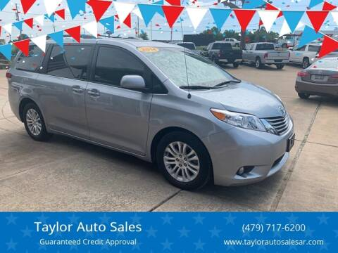 2014 Toyota Sienna for sale at Taylor Auto Sales in Springdale AR