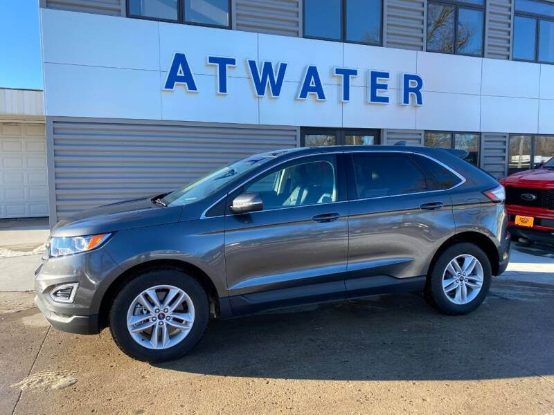 2018 Ford Edge for sale at Atwater Ford Inc in Atwater MN