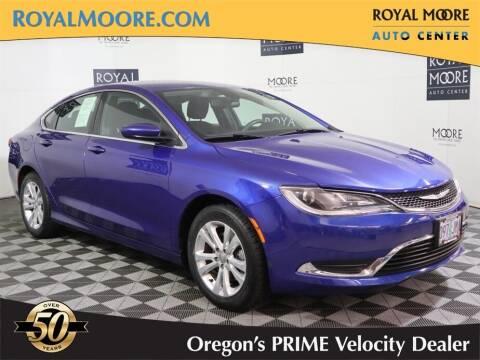 2015 Chrysler 200 for sale at Royal Moore Custom Finance in Hillsboro OR