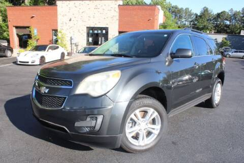 2013 Chevrolet Equinox for sale at Atlanta Unique Auto Sales in Norcross GA