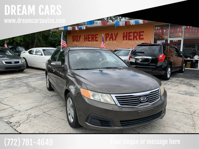 2009 Kia Optima for sale at DREAM CARS in Stuart FL