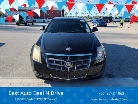 2011 Cadillac CTS for sale at Best Auto Deal N Drive in Hollywood FL