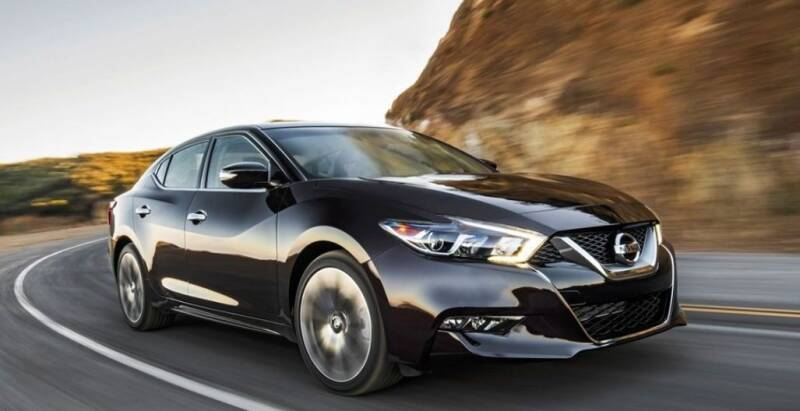 2021 Nissan Maxima for sale at Econo Auto Sales Inc in Raleigh NC