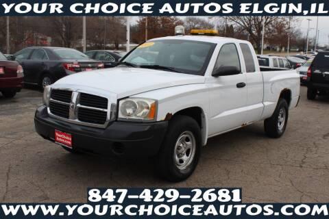 2007 Dodge Dakota for sale at Your Choice Autos - Elgin in Elgin IL